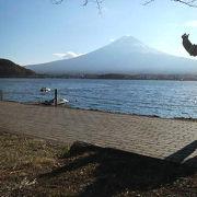 紅葉と富士山を静かに堪能できる贅沢な散歩道