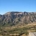 ネムルート山に近い眺望の良いホテル
