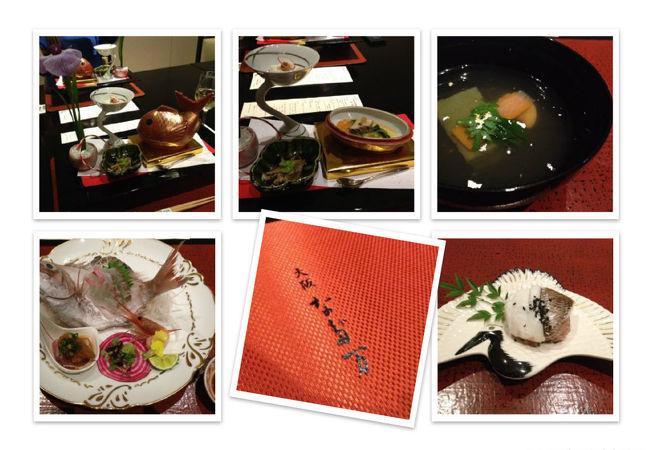 個室でゆっくりいただく日本料理