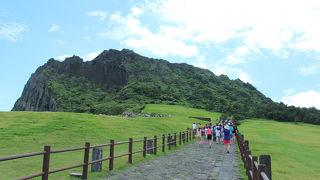 済州島の世界遺産、とっても景色が良い