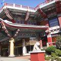 伝統的な韓国の雰囲気のあるホテル