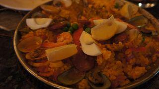 本格的なスペイン料理