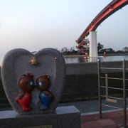 東京湾を見ながらいいムードに浸れる木更津の公園