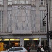 ZARAのベルリンでの代表する店です