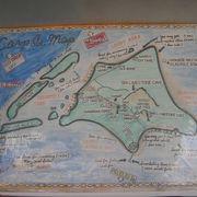ダイビングポイントに近い島で、カープ島は広島東洋カープのカープからつけられた