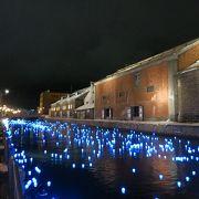 運河に浮かぶ冬の流星に、machi・nabeでは高級魚、きんきの鍋を賞味!