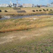 松山の主要な河川です