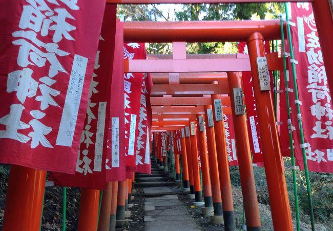千本鳥居の参道の雰囲気はなかなか
