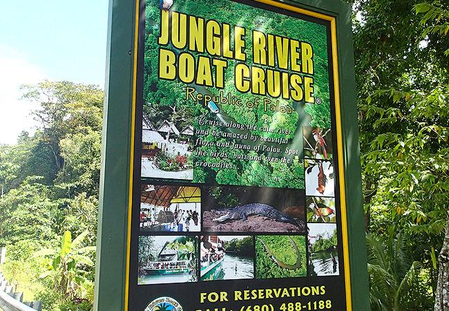 ジャングルリバーボートクルーズ