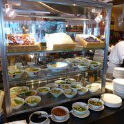 フラートンホテルの朝食