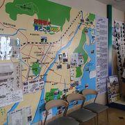 赤穂観光案内書が充実していて、特に、見どころMAPが写真付きで、コメントも記載されているので、方向感と距離感が判る、そんな場所です。