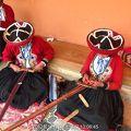 写真:クスコ伝統織物センター