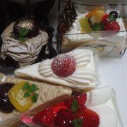 和菓子屋さんのケーキ