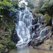 福岡有数の滝です