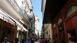 ハバナのメインストリート