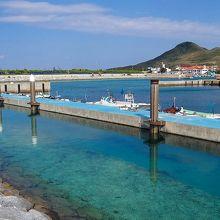 こちらは漁港です。