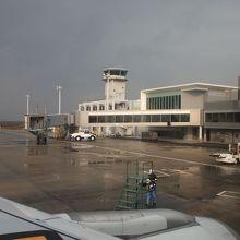 こじんまりとした可愛い空港