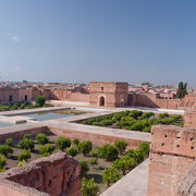 栄枯盛衰――今はコウノトリのすむ廃墟もかつては大宮殿だった