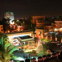 部屋から見るホテルの夜景