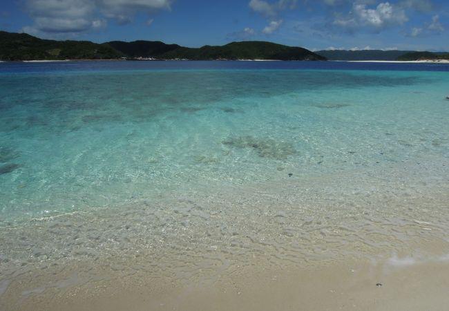 嘉比島からの眺め。