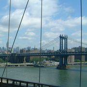 イースト・リバーをまたぐ2?の吊り橋