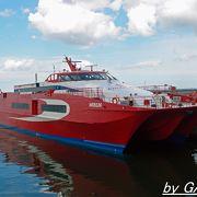 ヘルシンキ~タリンを結ぶ高速船リンダ・ライン発着港