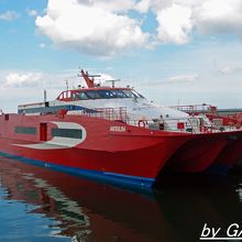 リンダ・ラインの高速船
