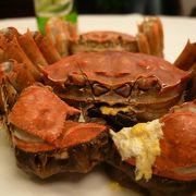 上海へ行ったら「上海蟹」いつでも食べられます