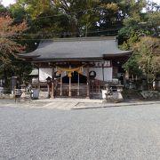 奈良の春日大社から分霊された篠山春日神社(かすがじんじゃ)