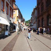 中世の町並みを堪能。買い物天国!