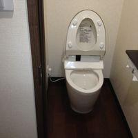 お風呂とは別になってるトイレ