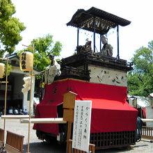 名古屋最中心部の例大祭