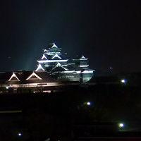 眺望は熊本城が見える