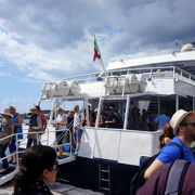 アマルフィからポジターノ経由カプリ島行き