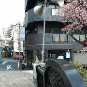 糸川近くの歴史の長そうな味のある商店街
