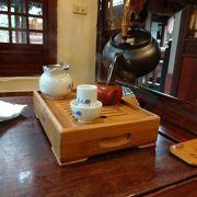 落ち着く茶芸館