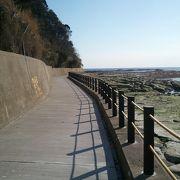 海沿いを散歩