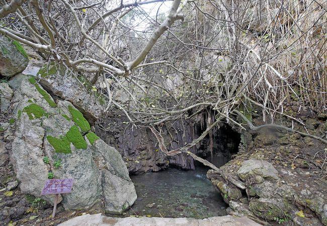 泉は大したことないが,続く遊歩道は景色がいい.時間があれば歩くと最高と思う