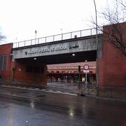 長距離列車のターミナル