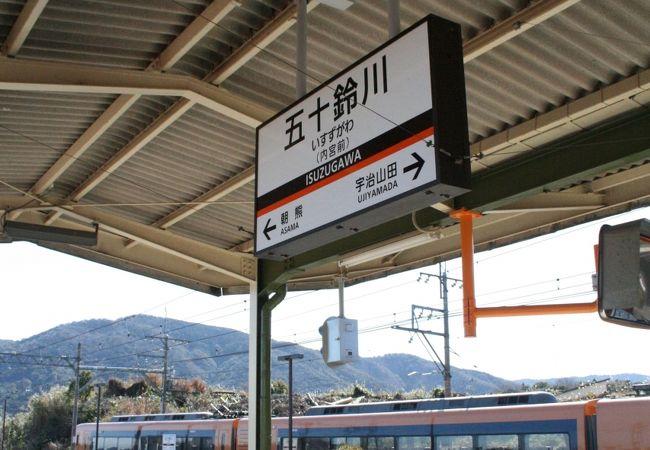 五十鈴ケ丘駅