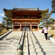 立派な西国二十二番札所のお寺