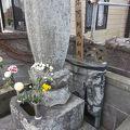 写真:板割浅太郎の墓