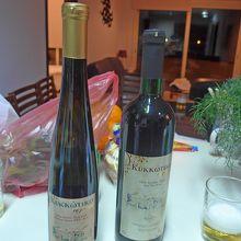 買ったワイン,10ユーロくらいだったが忘れた