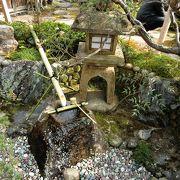 個人宅ですが、七代目小川治兵衛の作庭です