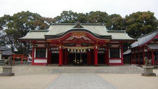 大分市の春日神社