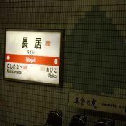 大阪府の巨大公園、長居公園に近い長居駅(ながいえき)