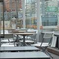 世界で最も電車に近い(?)カフェ&和酒の店 【 N3331 マーチエキュート神田万世橋 】