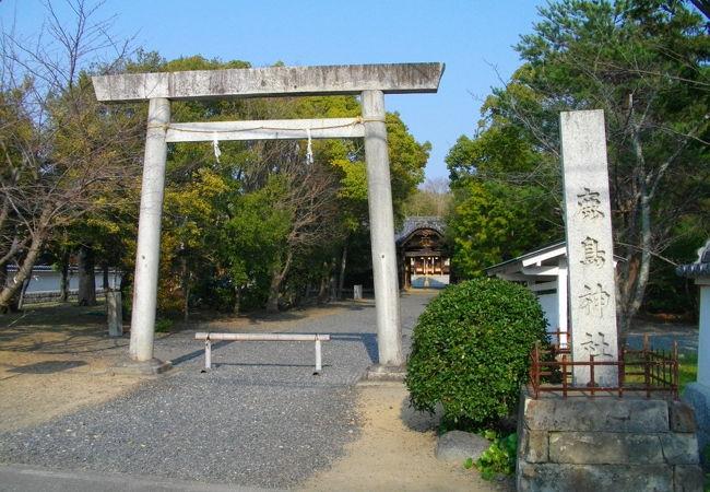 鹿島神社(和歌山県みなべ町)