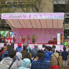 武蔵野市の春のおまつり