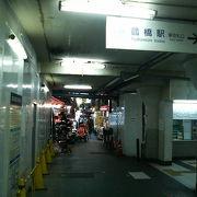 鶴橋駅のそばで異国気分とタイムスリップ気分